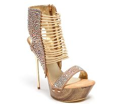 5ea936379 Stilettos with Crystals by Lady Couture