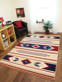 Milan New Small Medium Large Cheap Rugs Colourful Easy Clean Non Shed Soft Mats Cheap Large Rugs, Cheap Rugs, Yellow Rug, White Rug, Living Room Modern, Rugs In Living Room, Floral Rug, Tribal Rug, Room Rugs