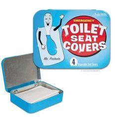 Notfall-Toilettensitz-Abdeckung-Auflage-Emergency
