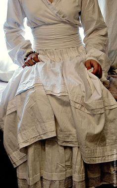 Купить ОДЕЖДА ДЛЯ СВОБОДНЫХ НАТУР - белый, платье бохо, прованс, классика, длинное платье
