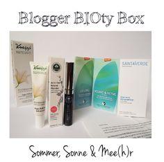Da, isse meine BIOty Box! .)  #naturkosmetik #beautybox #biotybox #kneipp #php #phbethicalbeauty #mascara #bblogger #greenbeauty