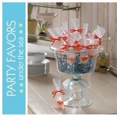 Fish party favors