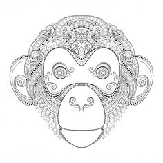Visit www.kidspressmagazine.com to see this free advanced animal coloring page and plenty more just like it!