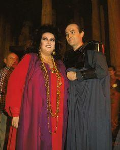 Montserrat Caballé and Jose Carreras in the Roman Theatre of Mérida after a performance of Luigi Cherubini's opera Medea in 1989 Roman Theatre, Carnegie Hall, Freddie Mercury, Classical Music, The Guardian, Musicals, Singer, Pictures, Life