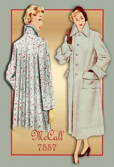 1940s Sewing Pattern McCall 7557 Tailored by FloradoraPresents, $30.00