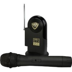 Nady Systems DKW-1HT VHF Wireless Microphone System. Delivering clear, transparent, high-fidelity audio, the DKW series systems can be used for a broad range of singing and speaking applications - karaoke and recreational singers, DJ's, auctioneers, teachers, aerobic instructors, clergy, and a host of others. Although offered at a breakthrough low price for a professional wireless, the DKW series are loaded with features. The Nady DKW-1 is the perfect mini portable receiver with unique…
