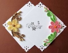 pergamano by pinterzsu on DeviantArt Paper Quilling Earrings, Paper Quilling Cards, Paper Quilling Patterns, Quilled Paper Art, Quilling Paper Craft, Paper Crafts, Quilling Images, Money Envelopes, Quilled Creations