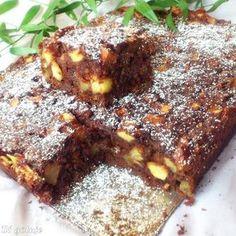 Leniwiec (czekoladowe ciasto z jabłkami)   Di bloguje