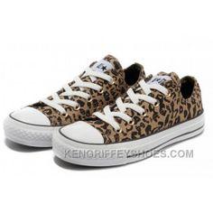d094b6589b6fa2 Brown CONVERSE All Star Leopard Print Rock N Roll Canvas Women Shoes NkY2k
