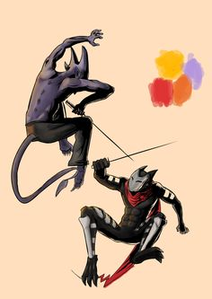 Kage's Fight by Fahmi Fauzi, via Behance