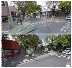 R. Antônio de Albuquerque / R. Alagoas, Belo Horizonte, Brazil Pedestrian, Pavement, Walkway, Paths, Transportation, Sidewalk, Landscape, Street, Design