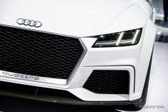 アウディ・TTクワトロ・スポーツコンセプト(ジュネーブモーターショー14)