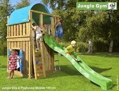 Jungle Villa Shown with a Playhouse Module