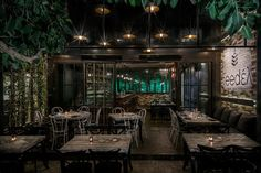 Mexil Design: Restaurant Feedel Athens #mexil #restaurant #gastronomy #athens Greek Restaurants, Cafe Bar, Athens, Greece, Places To Go, Urban, Table Decorations, Modern, Furniture