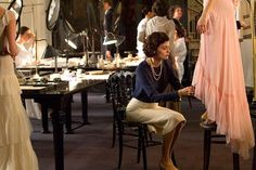 In Coco Before Chanel, Audrey Tautou stars as the creator of the famous fashion house. The film depicts the designer's early beginnings as a poor bar performer Audrey Tautou, Citation Coco Chanel, Coco Chanel Quotes, Timeless Fashion, Trendy Fashion, New Fashion, Fashion Outfits, Chanel Fashion, Chanel Style