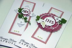 First Holy Communion, Christening, Quilling, Holi, Cardmaking, Diy And Crafts, Scrapbooking, Cards, Confirmation