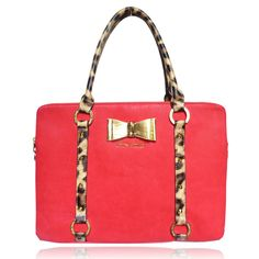Anna Smith Red Bow Bag -