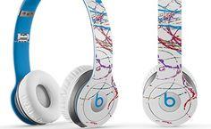 Futura x Beats By Dre Headphones, $200