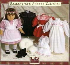 Samatha's pretty clothes free pattern