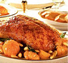 Raţă cu mandarine - Retete culinare - Romanesti si din Bucataria internationala Pork, Meat, Recipes, Kale Stir Fry, Ripped Recipes, Pork Chops, Cooking Recipes
