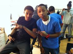 Diggy Simmons and Jacob Latimore hotties in the house Jacob Latimore, Diggy Simmons, Black Boys, Celebs, Celebrities, Brown Skin, My Boyfriend, Cute Guys, Famous People