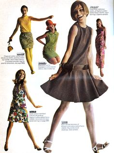 Fashion - Ladies Home Journal - March, 1967