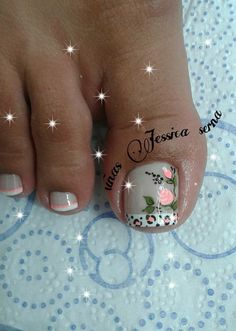 Pretty Toe Nails, Pretty Toes, Manicure, Nail Designs, Nail Art, Tattoos, Tiffany, Challenges, Toenails