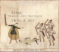 Medieval Macros / Bayeux Tapestry Parodies   Know Your Meme
