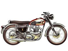 "BSA A10 ""Road Rocket"" (1956)"