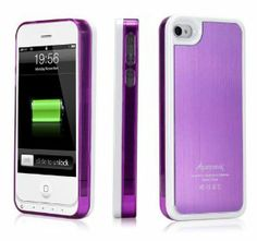 charging iphone 4s case plus my favorite color :)