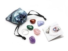 Crystal Healing Starter Kit - Multi Stone Healing Crystals For You, Healing Stones, Crystal Healing, Quartz Crystal, Rose Quartz, Blue Lace Agate, Pink Eyes, Green Aventurine, Starters