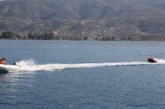 Water fun in Poros