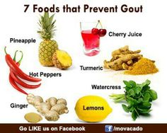 Foods for gout