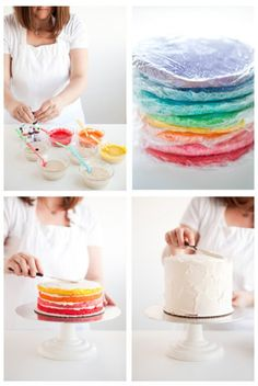 Радуга-торт для детского праздника. Комментарии : LiveInternet - Российский Сервис Онлайн-Дневников
