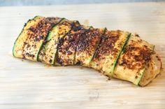 Blackened Zucchini Wrapped Fish | Slender Kitchen