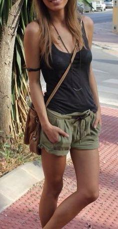 Shorts y polera