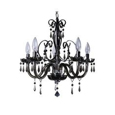 Small Black Crystal Chandelier | Home Improvement