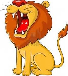 roaring lion clipart - Google Search
