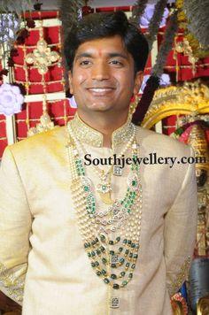 Bridegroom's Wedding Jewellery