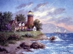 Mr. Lewan, American painter, has developed a style with unique qualities and has become the modern day master of realism, romanticism and fantasy.