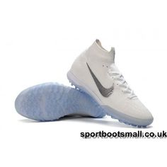 uk availability 3c749 887b9 Nike Kids Mercurial SuperflyX VI Elite TF Football Trainers -  White Metallic Cool Grey for sale, Big orders, Big discount.