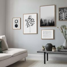 32 Nice Modern Minimalist Wall Decor Ideas For Your Interior - Contemporary home decor is the top of the line when it comes to home decor styles to bring to play in your home. While most people have a general idea. Contemporary Home Decor, Modern Wall Art, Large Wall Art, Modern Room Decor, Living Room Decor, Living Rooms, Home Decor Styles, Interiores Design, Bedroom Wall