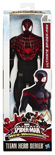 New Marvel Spider Man Titan Hero Series Ultimate Spider Man 12Inch Action Figure #SpiderMan