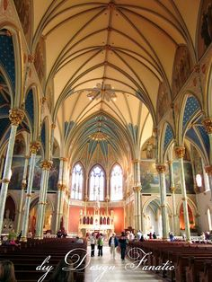 Savannah Architecture: inside St John the Baptist Cathedral