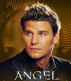 David Boreanaz as Angel.