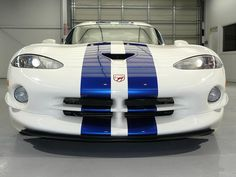 Dodge Viper GTS. You can get your viper stripes from www.vinylwarehouse.co.uk #be_inspired #inspire_others #vinyl #tablecloth #Fablon #dcfix #stockist