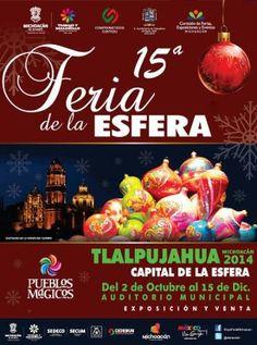 No te pierdas en Tlalpujahua, hermoso pueblo mágico de Michoacán! a la Feria de la Esfera y disfruta de la eterna navidad de este hermoso pueblo.