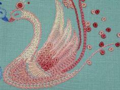 ブログテーマ[みはる先生作品集] 【かんたん刺繍教室】たった6つのステッチだけでらくらく刺繍上達ブログ