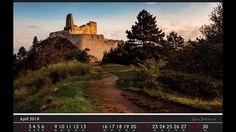 Kalendár hrad Čachtice 2018