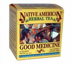 Native American Tea Company - Good Medicine - Spearmint, Wood Betony, Eucalyptus Tea, $3.20 (http://nativeamericantea.com/tea/good-medicine-help-yourself-naturally-spearmint/)